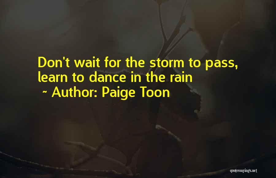 Paige Toon Quotes 1616010