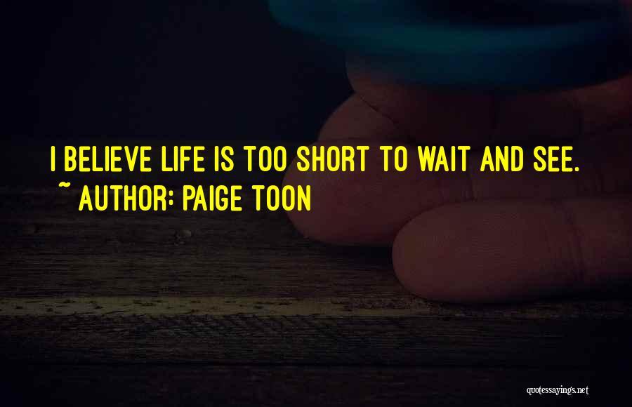 Paige Toon Quotes 620434