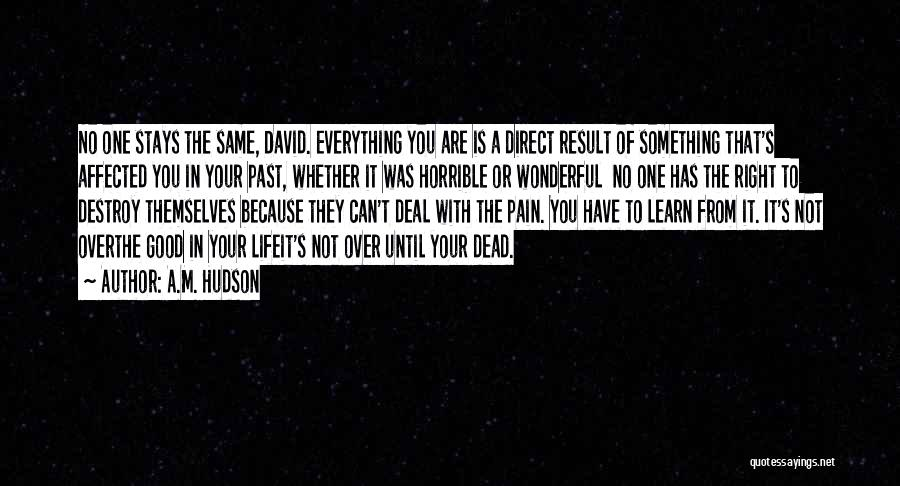 Pain From The Past Quotes By A.M. Hudson