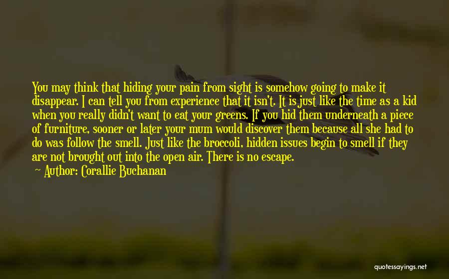 Pain From The Past Quotes By Corallie Buchanan