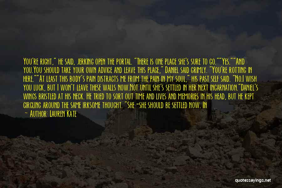 Pain From The Past Quotes By Lauren Kate