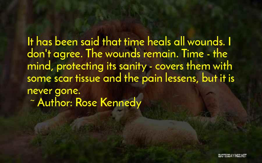 Pain Heals Quotes By Rose Kennedy