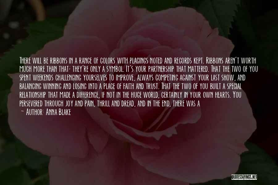 Pain In Eyes Quotes By Anna Blake