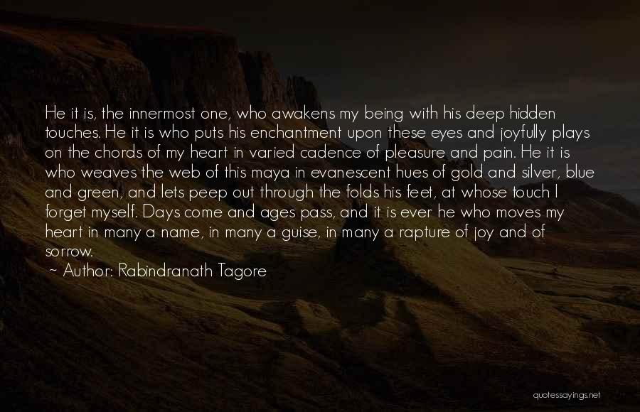 Pain In Eyes Quotes By Rabindranath Tagore