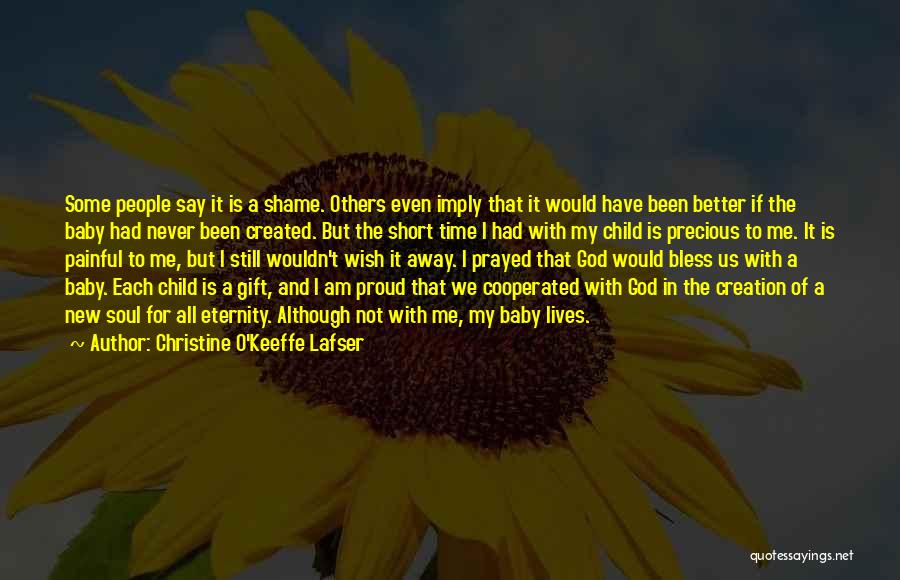 Painful Soul Quotes By Christine O'Keeffe Lafser