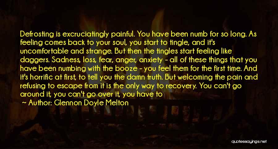 Painful Soul Quotes By Glennon Doyle Melton