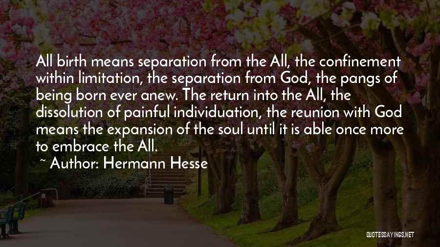 Painful Soul Quotes By Hermann Hesse