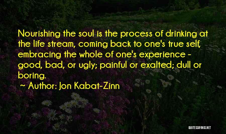 Painful Soul Quotes By Jon Kabat-Zinn