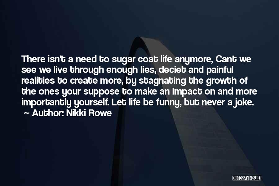 Painful Soul Quotes By Nikki Rowe
