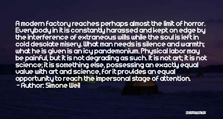 Painful Soul Quotes By Simone Weil