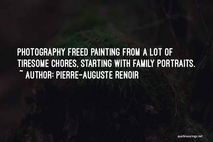 Painting Portraits Quotes By Pierre-Auguste Renoir