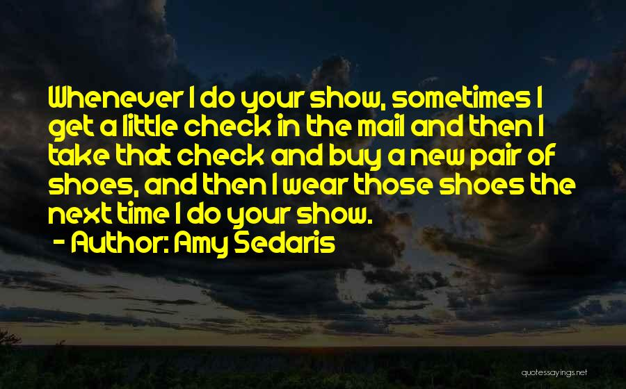 Pair Of Shoes Quotes By Amy Sedaris
