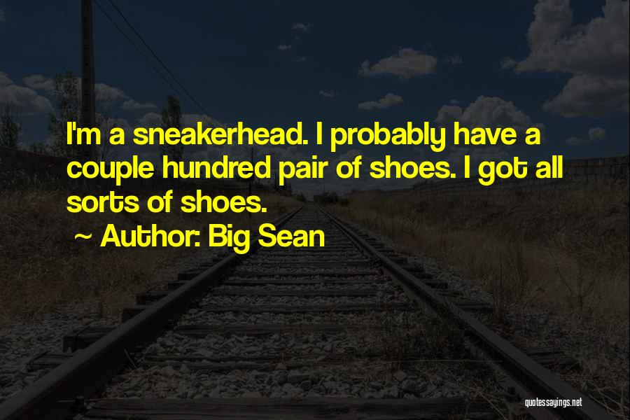 Pair Of Shoes Quotes By Big Sean