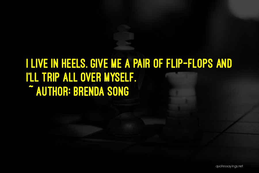 Pair Of Shoes Quotes By Brenda Song