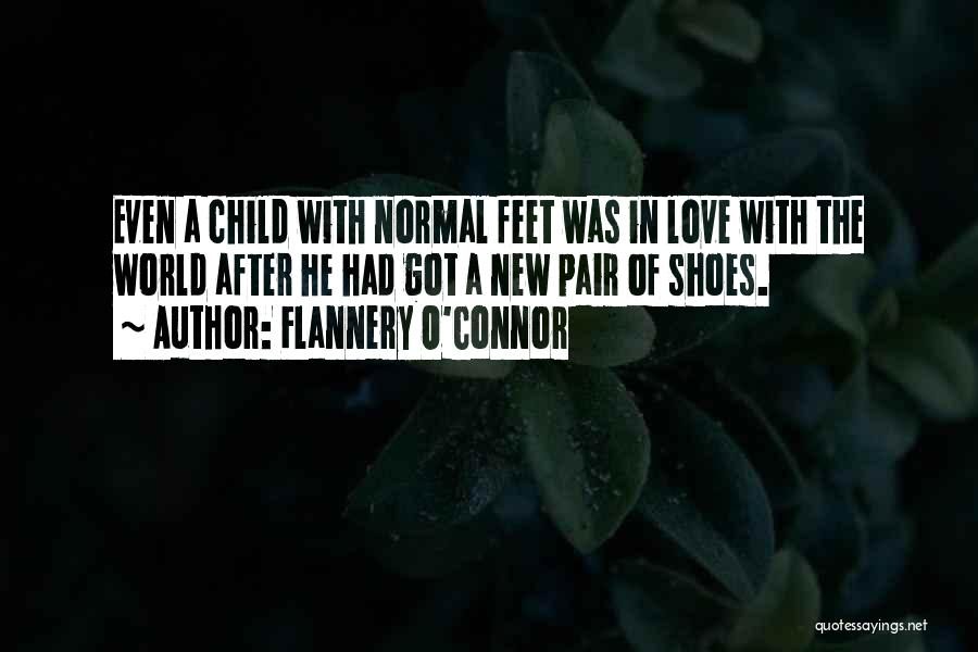 Pair Of Shoes Quotes By Flannery O'Connor
