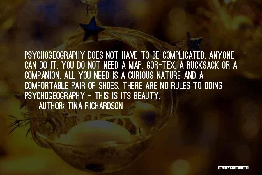 Pair Of Shoes Quotes By Tina Richardson