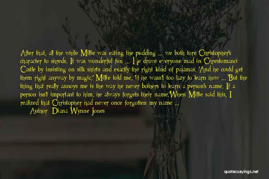 Pajamas Quotes By Diana Wynne Jones