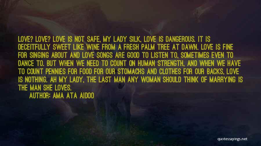 Palm Tree With Quotes By Ama Ata Aidoo