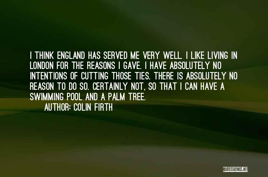 Palm Tree With Quotes By Colin Firth