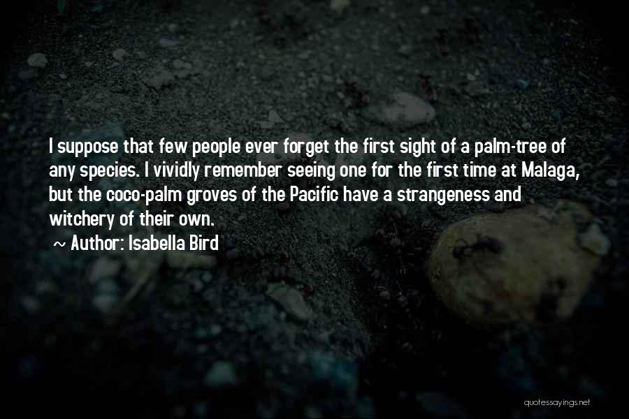 Palm Tree With Quotes By Isabella Bird