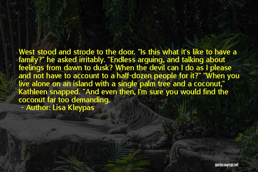 Palm Tree With Quotes By Lisa Kleypas