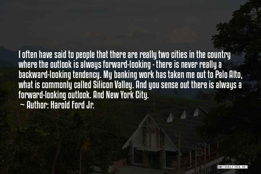 Palo Alto Best Quotes By Harold Ford Jr.