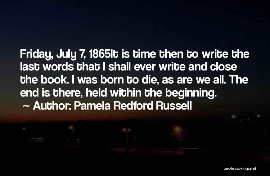 Pamela Redford Russell Quotes 1280374