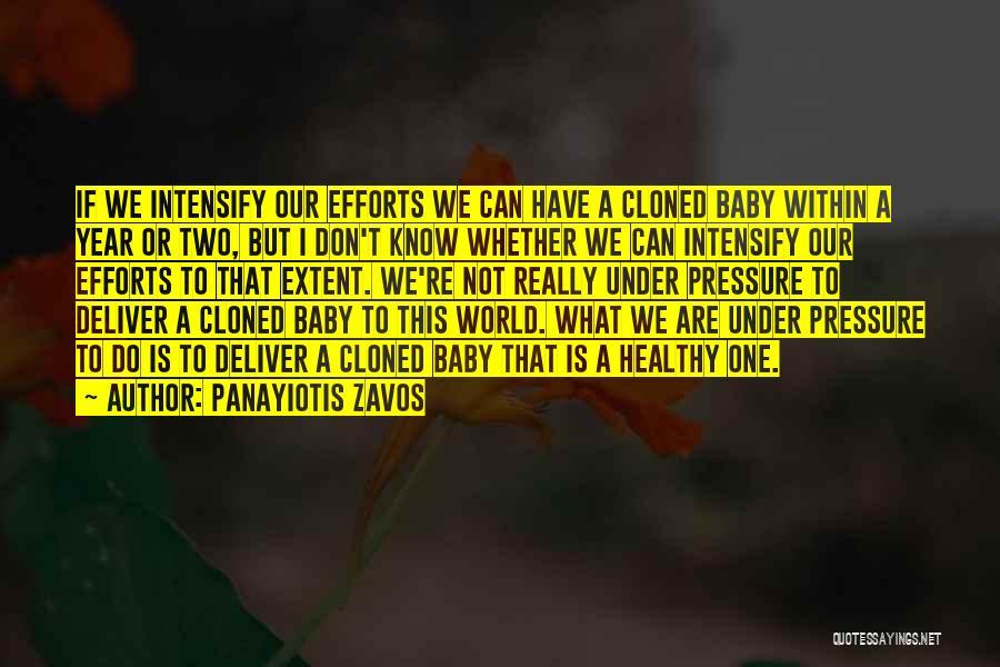 Panayiotis Zavos Quotes 304558