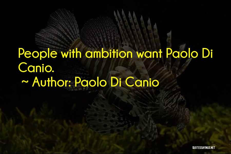 Paolo Di Canio Quotes 90049