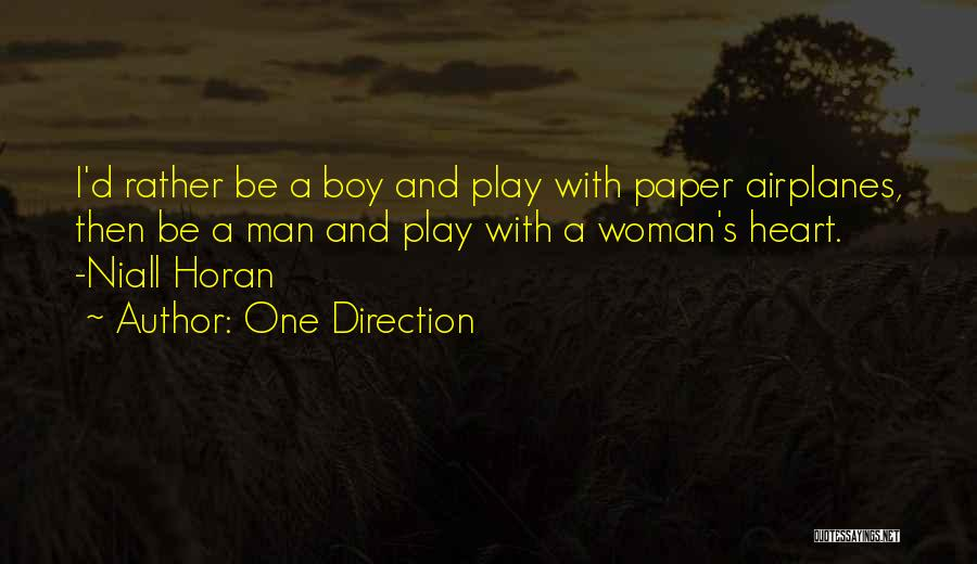 Paper Airplanes Quotes By One Direction