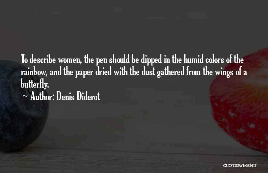 Paper And Pen Quotes By Denis Diderot