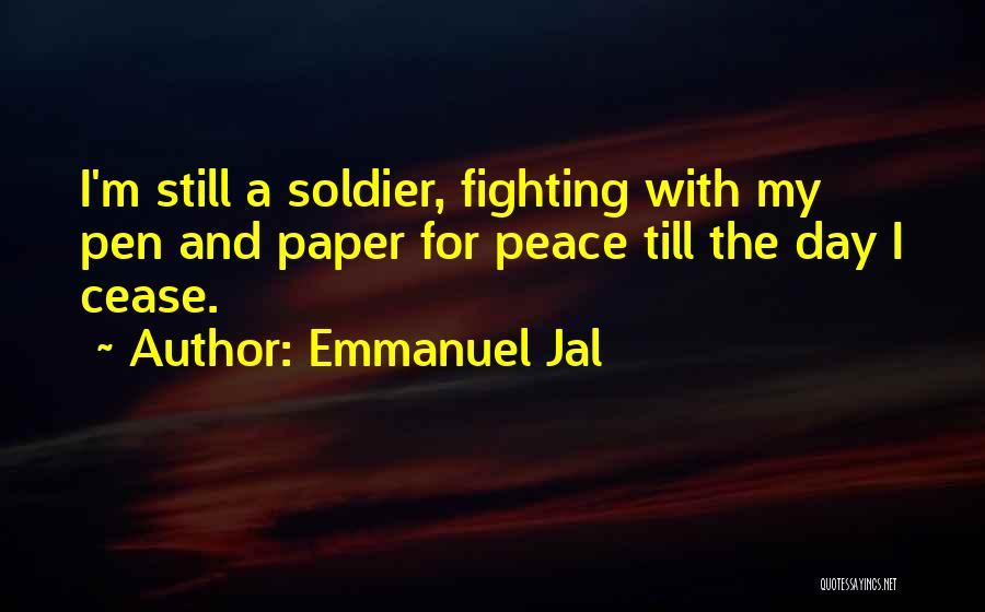 Paper And Pen Quotes By Emmanuel Jal