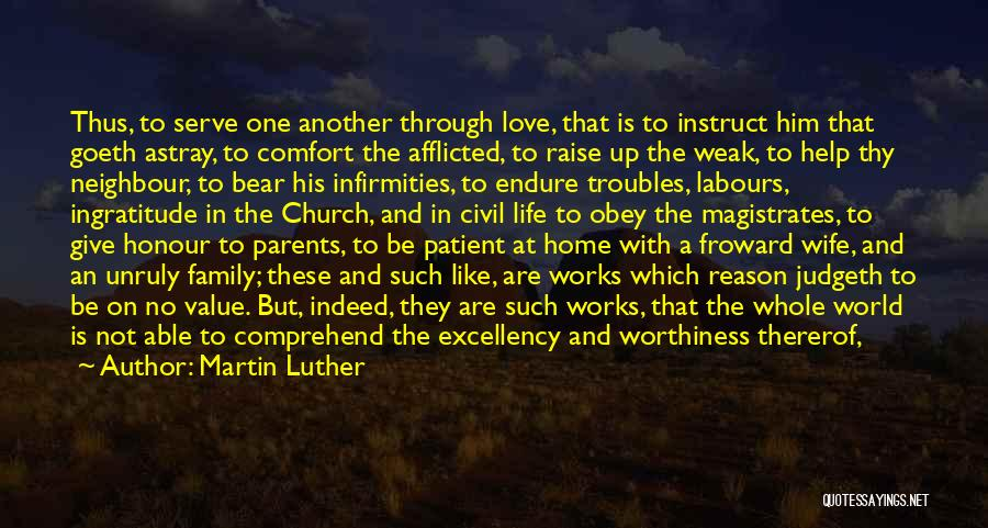 Parents And Love Quotes By Martin Luther