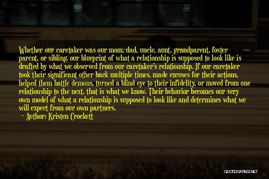 Parents As Partners Quotes By Kristen Crockett