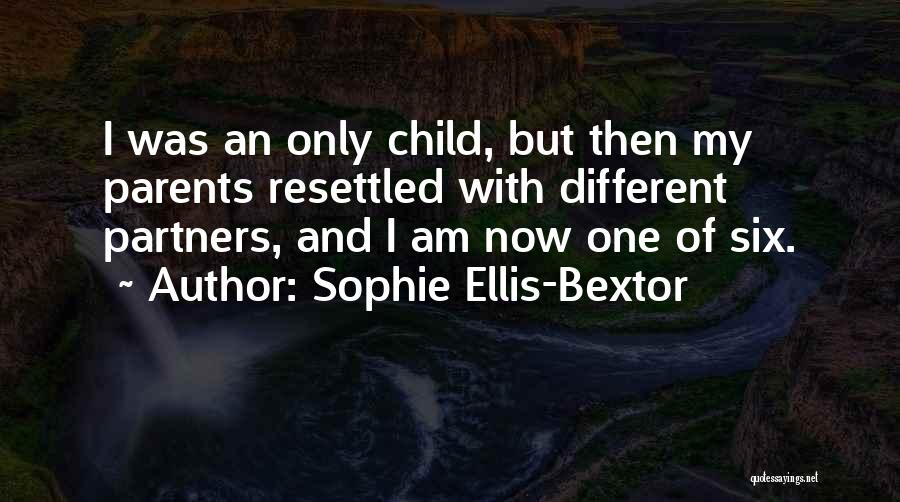 Parents As Partners Quotes By Sophie Ellis-Bextor