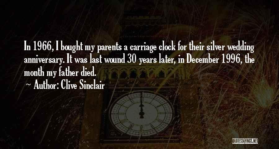 Parents Died Quotes By Clive Sinclair