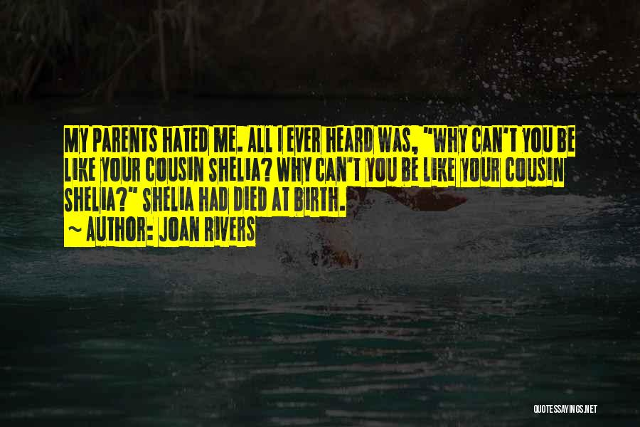 Parents Died Quotes By Joan Rivers