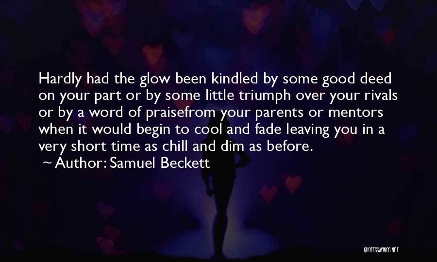Parents Leaving Quotes By Samuel Beckett