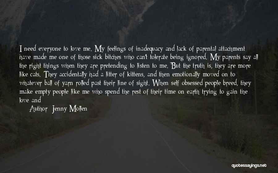 Parents Love And Care Quotes By Jenny Mollen