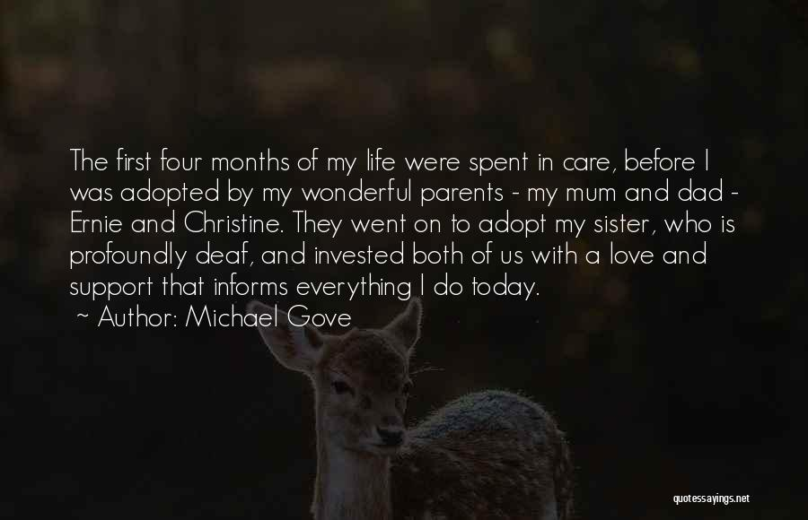 Parents Love And Care Quotes By Michael Gove