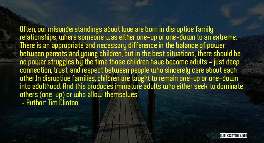 Parents Love And Care Quotes By Tim Clinton
