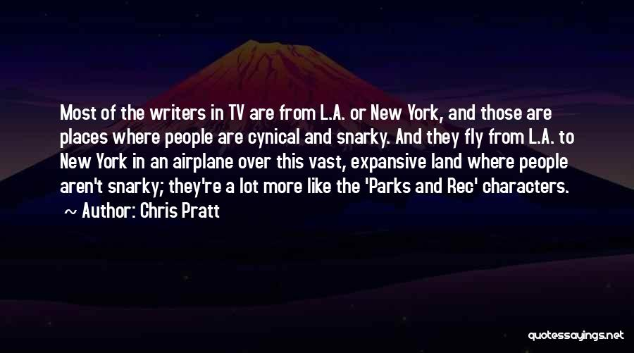 Parks And Rec Quotes By Chris Pratt