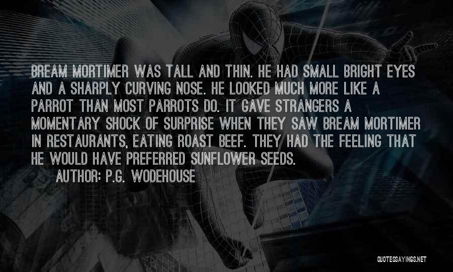 Parrots Quotes By P.G. Wodehouse
