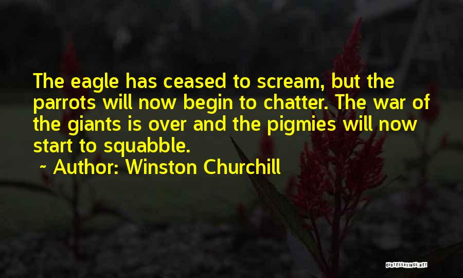 Parrots Quotes By Winston Churchill