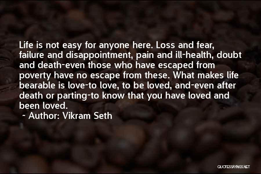 Parting With Someone Quotes By Vikram Seth