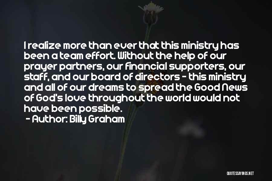 Partners Love Quotes By Billy Graham