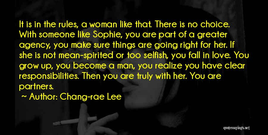 Partners Love Quotes By Chang-rae Lee