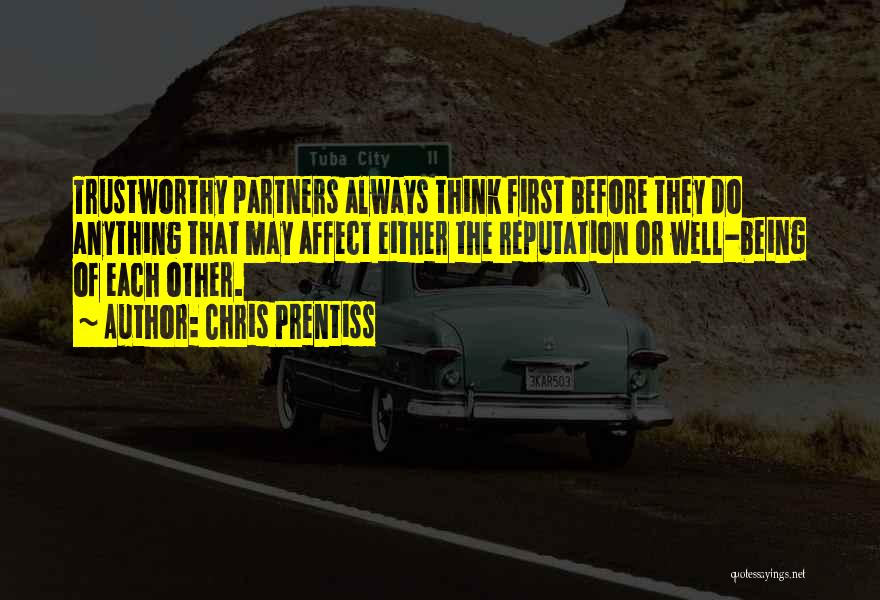 Partners Love Quotes By Chris Prentiss