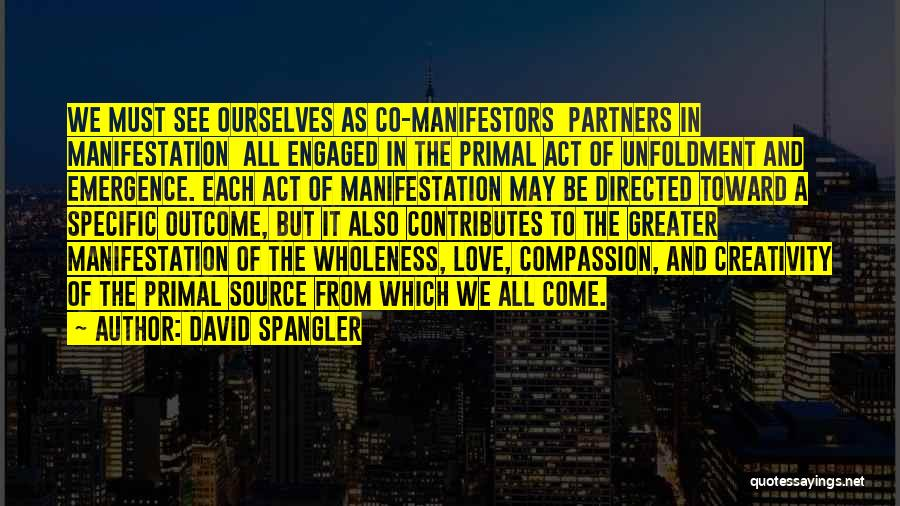 Partners Love Quotes By David Spangler