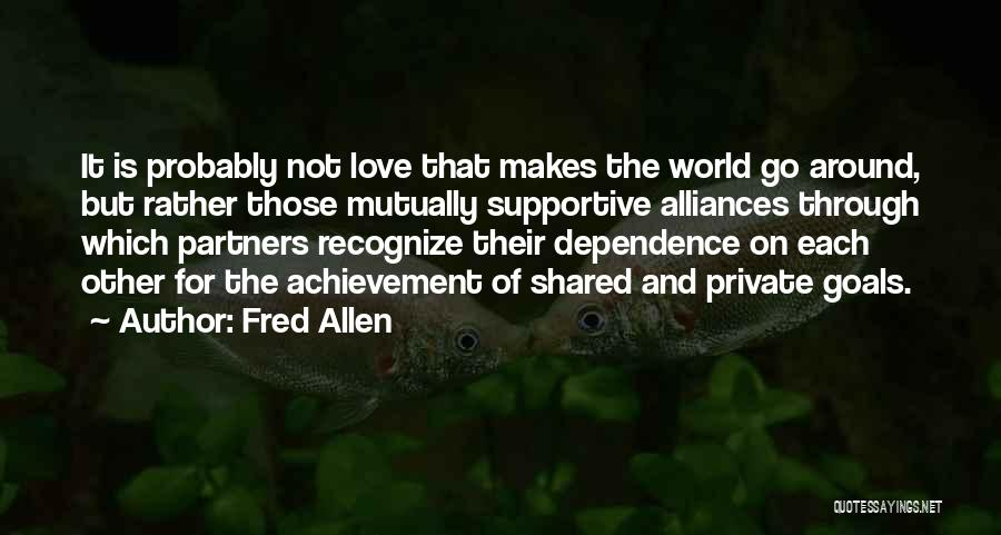 Partners Love Quotes By Fred Allen